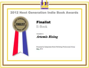 Next Generation Indie Book Awards 2012 - Artemis Rising