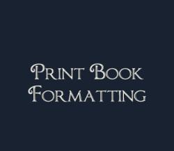 Print Book Formatting