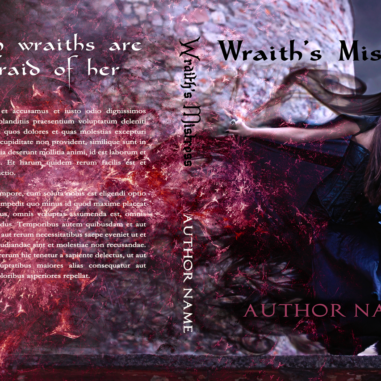 Premade Cover 8_Print Cover_Witch_Web