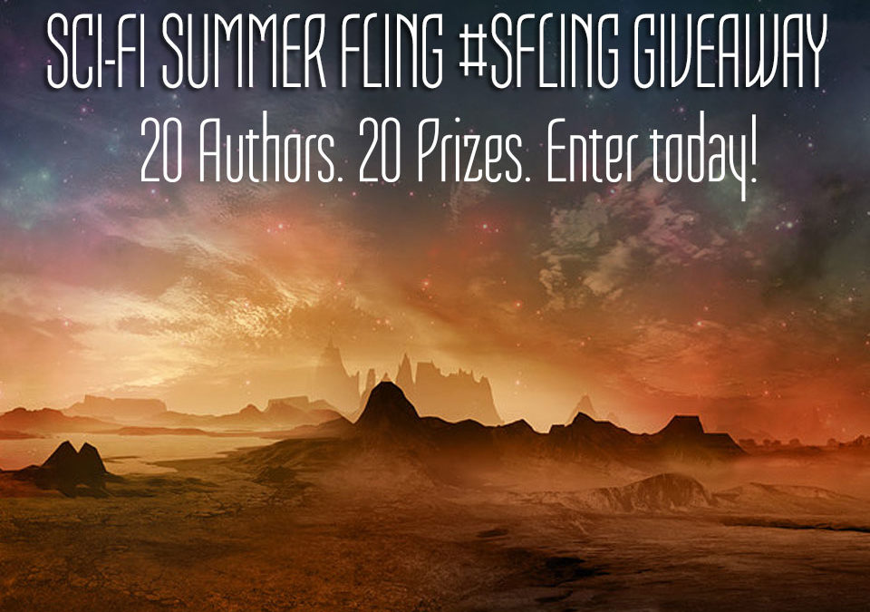 SciFi Summer #SFling Giveaway